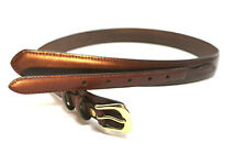 Mens Western Brown Ranger Leather Belt 36-44 Removeable Buckle