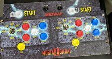 MORTAL KOMBAT Arcade1Up control panel