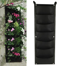 Vertical Garden Planter Wall-mounted Planting Flower Grow Bag 7 Pocket 100*30cm