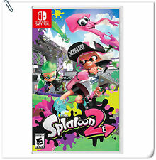 SWITCH Splatoon 2 Nintendo Third Person Shooting Games