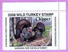 2008 NWTF WILD TURKEY STAMP CALL FREE SHIPPING