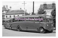 ab0043 - Aldershot & District Coach Bus - COR 163 - photograph 6x4