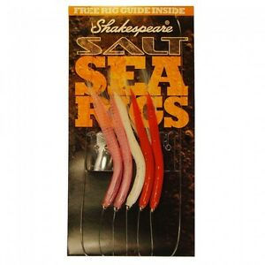 Shakespeare Feathered Sandeels 5 Hook Rig
