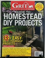 Grit Guide to Homestead DIY Projects Winter 2016 Chicken Feeder FREE SHIPPING sb