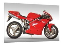 Poster by Steve Dunn 1994 Ducati 748 SP -  Limited Edition Collectors Print