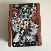 2002 Retro New & Sealed Mega Bloks 9367 Gyro Fighters Turbo 55 Pieces