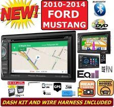 2010-2014 FORD MUSTANG GPS NAVIGATION BLUETOOTH CAR RADIO STEREO CD DVD USB