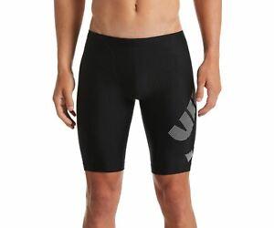 Nike Men's Tilt Logo Jammer - Black Blue (Size 36)