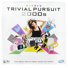 Hasbro Trivial Pursuit 2000's Board Game Trivia Cards With 1800 Questions