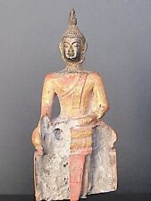 Ancien Bouddha en Bois de Thailande