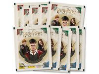 Panini HARRY POTTER SAGA Stickers Collection Packs 10 Packets BRAND NEW FREEPOST