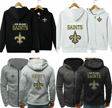 New Orleans Saints Hoodie Football Hooded Sweatshirt Fleece Jacket Gift for Fans