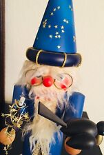 "Mythical Fantasy Medieval Merlin Wizard 18"", nutcracker"