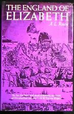 The England of Elizabeth: The Structure of Society A.L. Rowse HB/DJ VG+