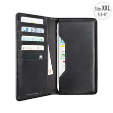 Artwizz Leder Wallet Etui Tasche Schutz Hülle Schwarz f. Google Pixel 2 XL