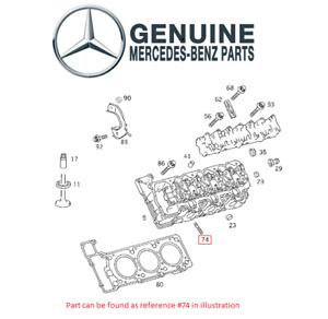 Genuine Exhaust Manifold Stud 2729900005 For Mercedes C230 C280 CLK320 CLS500
