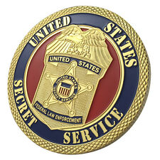 United States Secret Service / USSS / Federal Law Enforcement GP Coin 1111#