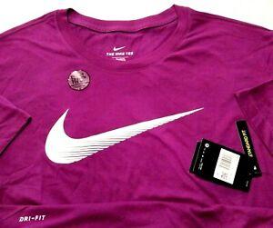 Nike Men's 4xlt 4xl Purple White T Shirt Dri Fit Big Tall Cotton NWT 10-1221921