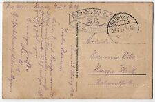1917 GERMANY WWI MILITARY Cancels POSTMARKS PC Russians FELDPOST LIR 99 Infantry