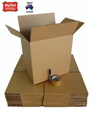 Moving Pack - 20 Cardboard Boxes + Tape + Texta