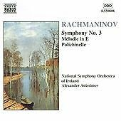 Rachmaninov: Symphony No. 3/Melodie in E/Polichinelle CD NEW