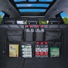MULTIFUNCTION MESH 8 POCKET HANGING BOOT CAR SEAT TIDY STORAGE ORGANISER NEW