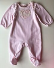 Juicy Couture Baby Girl Pink Babygrow 0-3 Months