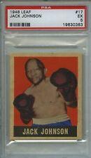 1948 Leaf #17 Jack Johnson Boxing Card PSA 5 EX ANDREA