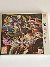 Project X Zone 2 (Nintendo 3 DS) - juego completo en muy buena condición Reino Unido * * libre y rápido UK Post