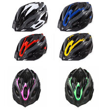 Cycling Bicycle Mens Bike Helmet Red Carbon Color With Visor Mountain Top Sale