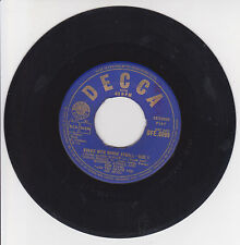 """WINIFRED ATWELL AND HER PIANO Vinyl 45T EP 7"""" BOOGIE WITH WINNIE ATWELL - DECCA"""