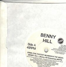 Benny Hill -Yakety Sax Ernie The Fastest Milkman - UK Import 7 Inch Record NEW