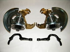 """GM Drop Spindles 2"""" Caliper Brackets Steering Arms GM A Body Disc Brake Spindles"""