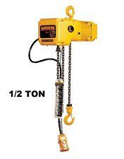 Harrington Sner Electric Chain Hoist 12 Ton Capacity