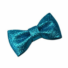 Girls GLITTER BOW Hair Clip Grip Accessories Wedding Festival Dance Prom Party