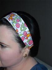 HANDMADE Cute Owls*  PRINT- Women Headband Hair Accessory Hair Band With Elastic