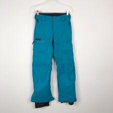 Burton Womens XXSmall 2XS The White Collection Prizefighter Snowboard Pants Blue
