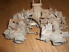 Mercedes manifold with dual Solex carbs 4 cylinder