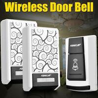 36 Chimes Waterproof Wireless Doorbell Remote Control 1/2 Receiver Door bell HG
