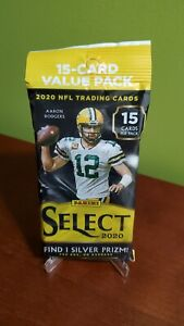 2020 Panini SELECT NFL Football Cello FAT PACK 15 Cards Sealed‼️ Herbert, Borrow
