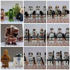 Star Wars Last Jedi Storm Clone Trooper Mini Figures Darth Vader,Han fit lego