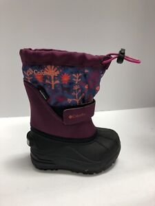 Columbia Powderbug Forty Childrens Snow Boot Size 7 M Little Kids