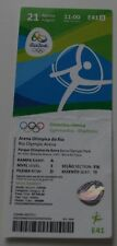 Ticket for collectors Olympic Rio  2016 Gymnastics Rhythmic 21.08 E41 Russia
