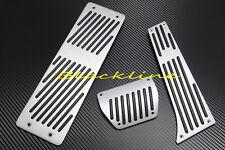 For BMW AT Auto Aluminum Metal Pedal Pedals 3pcs Set E34 E36 E38 E65 X3 X5 Z3