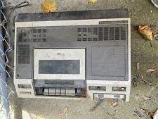 New listing Vintage Magnavox 1980 Top Loader Vhs Vcr Cassette Recorder for parts 8310Bk01