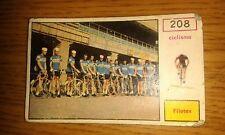 FIGURINA CAMPIONI dello SPORT PANINI 1967 - # 208 - FILOTEX - NUOVA