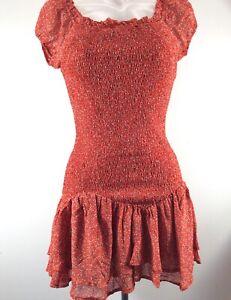 WOMEN'S PRINCESS POLLY DITSY FLORAL SINEAD MINI DRESS SIZE 10 BNWT