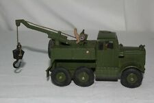 Dinky #661, 1950's Military Army Wrecker, Original