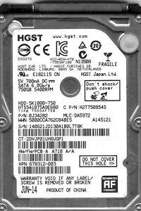 "MAC OS X High Sierra PreLoaded On A LOW HOURS 750GB Hard Drive 2.5"" -MACBOOK/PRO"
