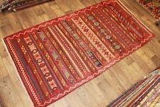 Handgewebter Kelim 158x425 cm Orientteppich Nomadenteppich Nomadenkelim NEU